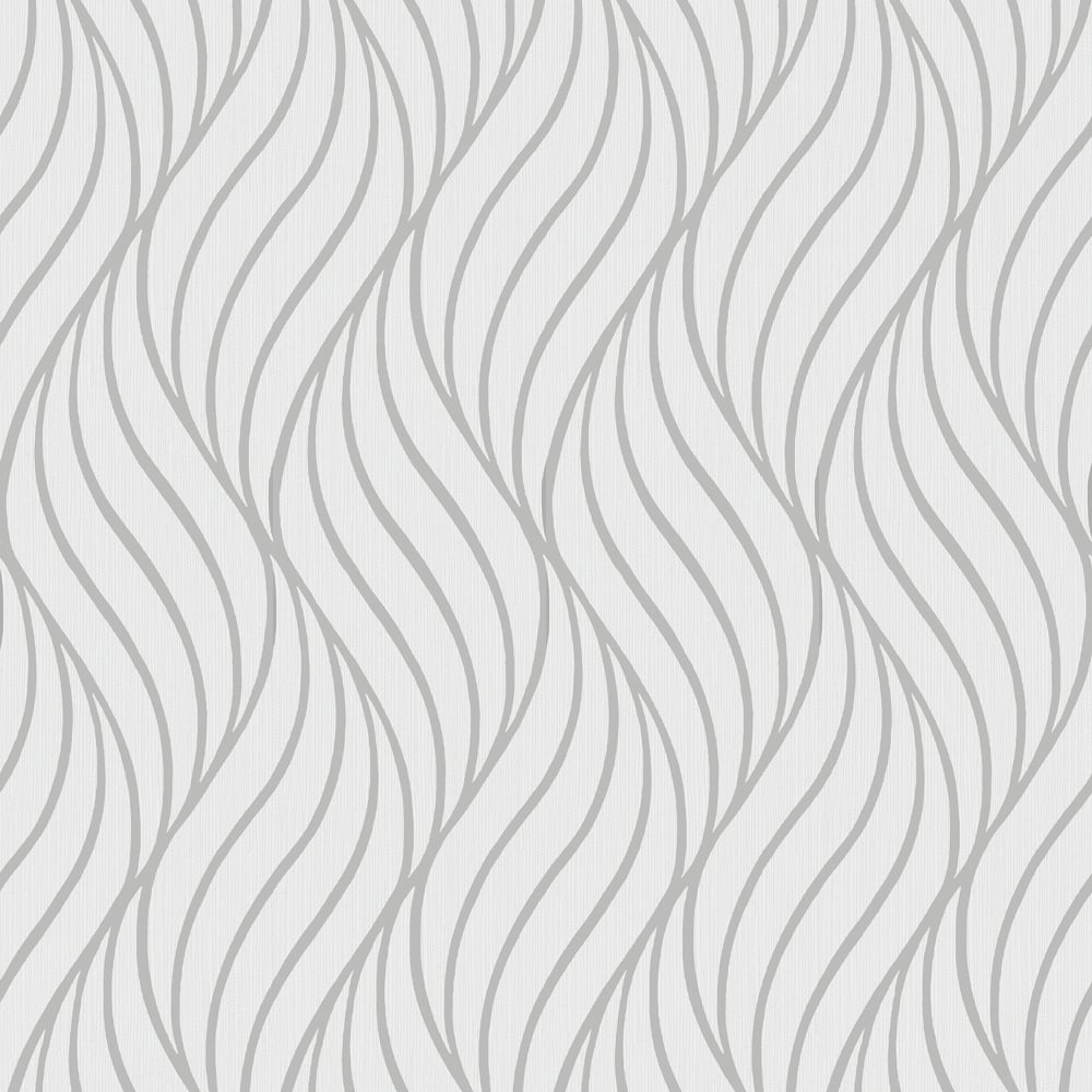 Holden Maddox Wave Stripe Pattern Wallpaper Modern Metallic Motif Textured 65261