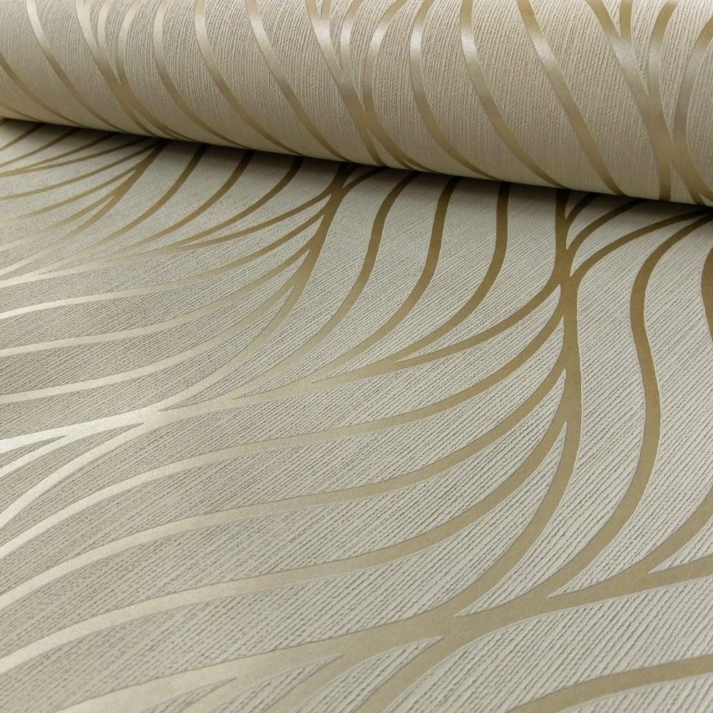 50 Modern Wallpaper Pattern: Holden Maddox Wave Stripe Pattern Wallpaper Modern