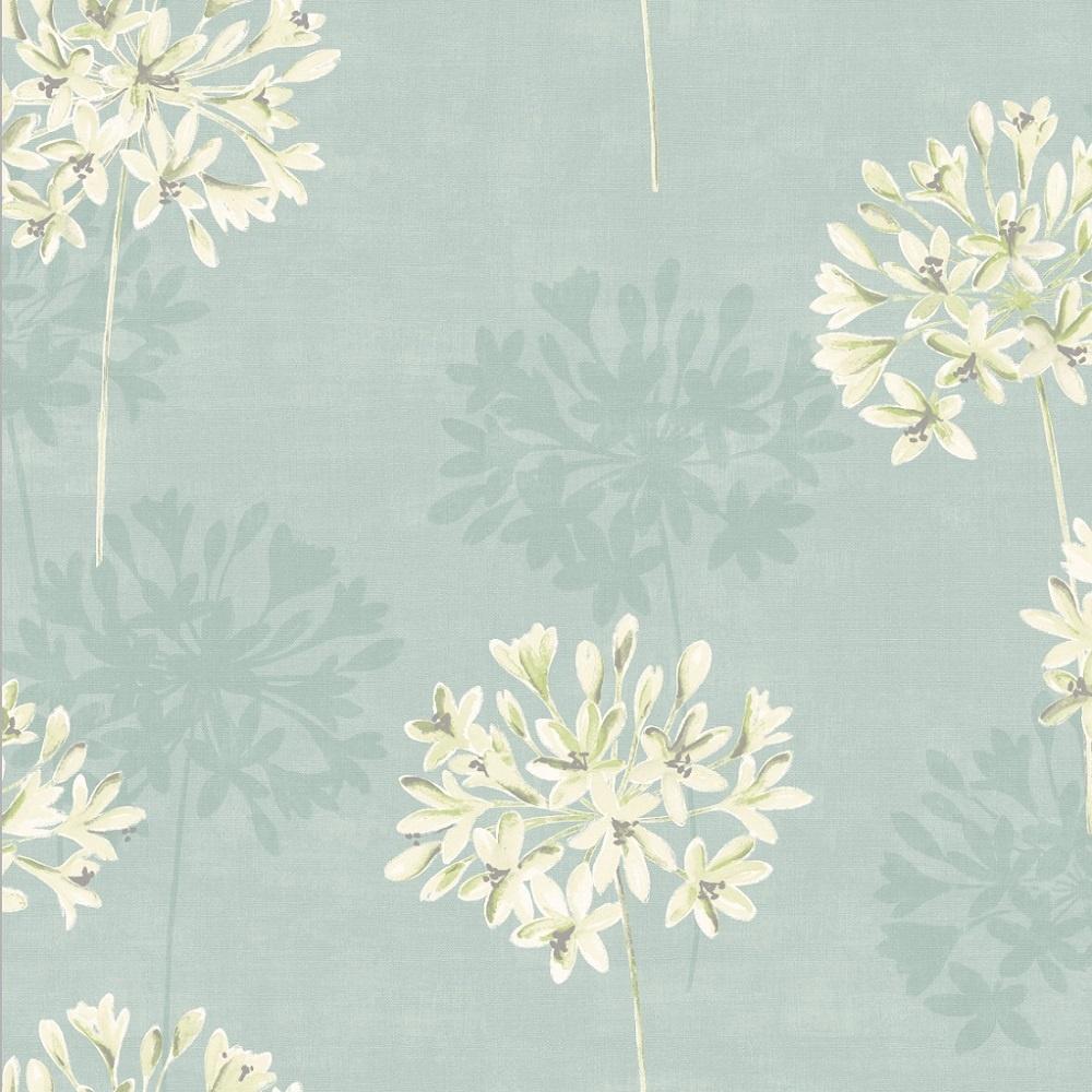Holden melissa floral painted effect flower 10 05m wallpaper 11251