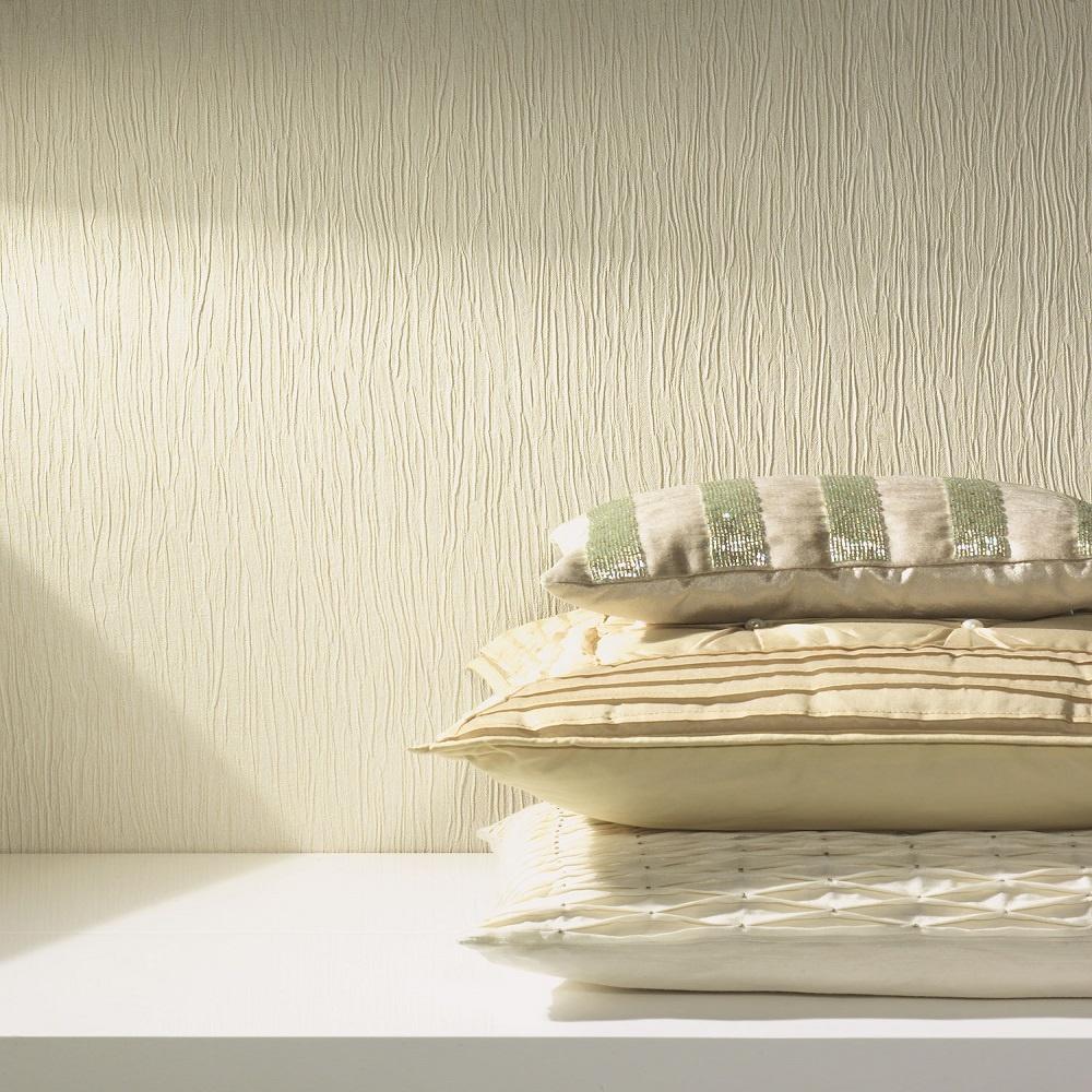 Holden opus loretta cream plain textured italian vinyl for Opus wallpaper range