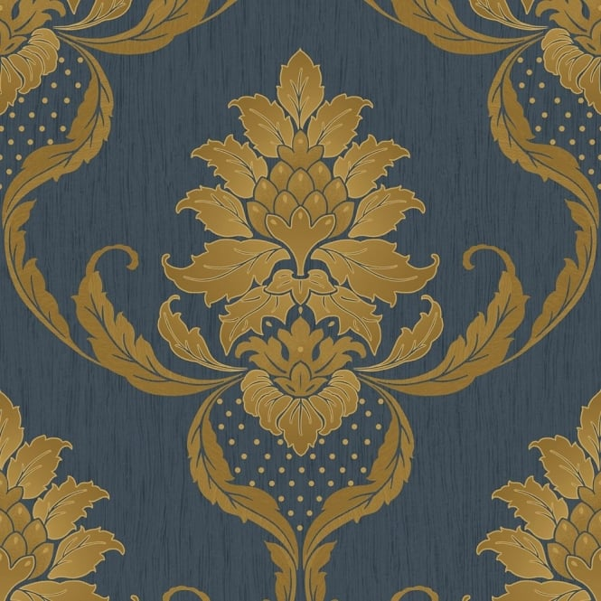 Holden Opus Viviani Damask Wallpaper 33932