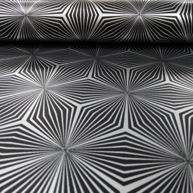 Holden Sparkle Star Geometric Pattern Wallpaper Metallic Abstract 3D Effect 12616