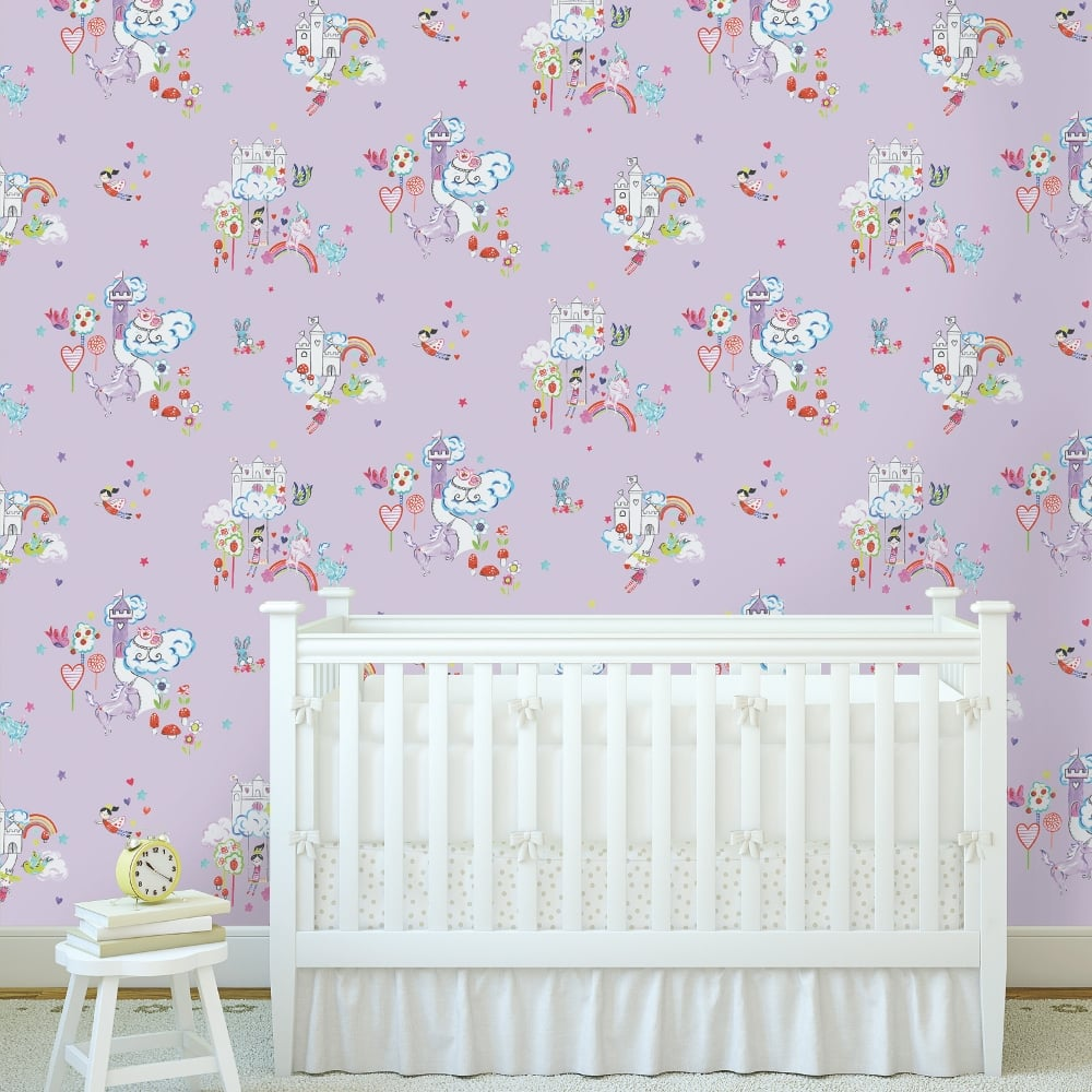 Good Wallpaper Marble Unicorn - holden-decor-holden-unicorn-and-castles-pattern-childrens-wallpaper-princess-rainbow-12219-p4858-13090_image  Collection_794923.jpg
