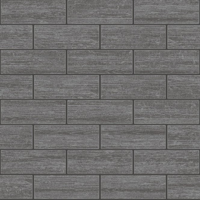Bathroom Tiles Wallpaper holden wood tile effect kitchen bathroom tiling wallpaper black 89216