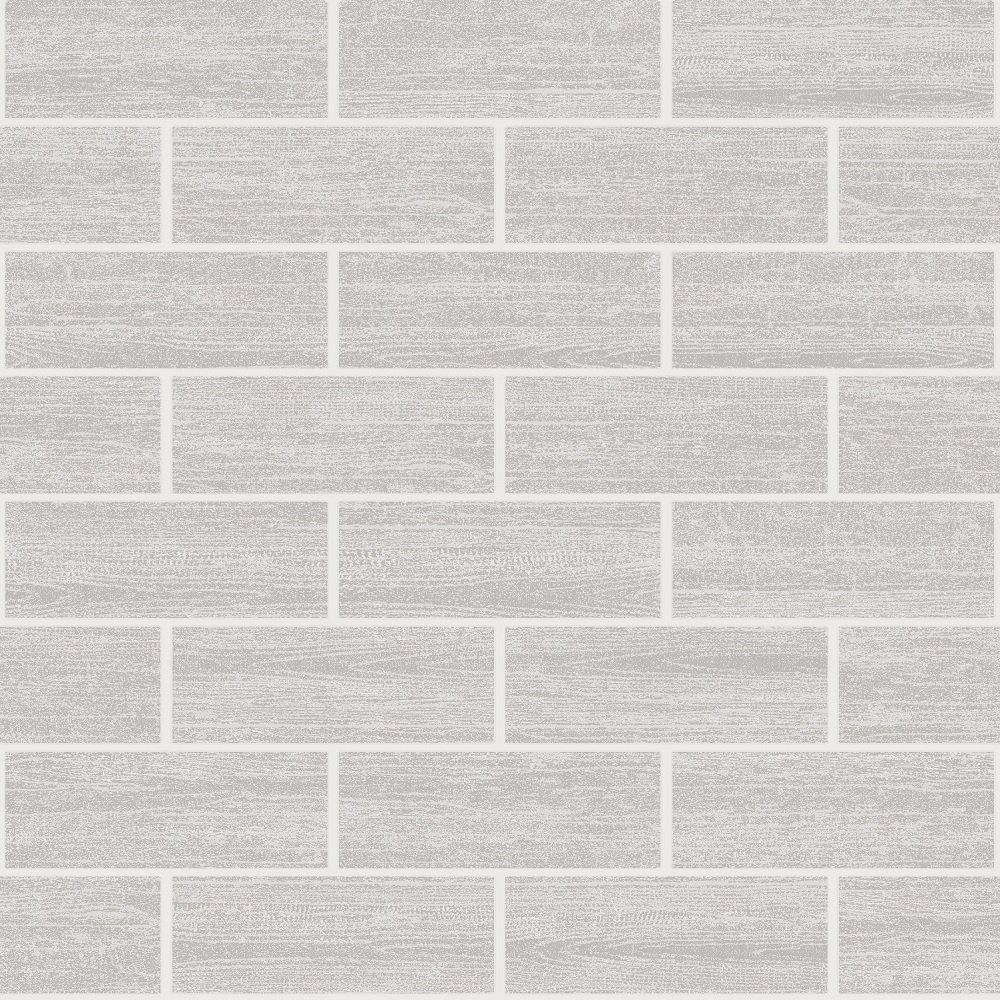 Holden wood tile effect kitchen bathroom tiling wallpaper grey 89217 - Wood effect bathroom wallpaper ...