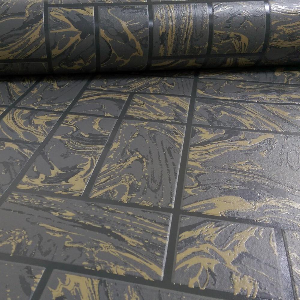 Wallpaper For Bathrooms Vinyl Washable Wallpaper: Holden Decor Marble Tile Pattern Faux Effect Kitchen