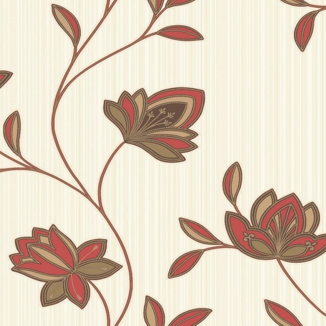Holden Decor Holden K2 Galileo Floral Wallpaper 75521