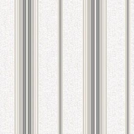 Holden K2 Shiro Stripe Pattern Textured Embossed Vinyl Glitter Striped Wallpaper 75700