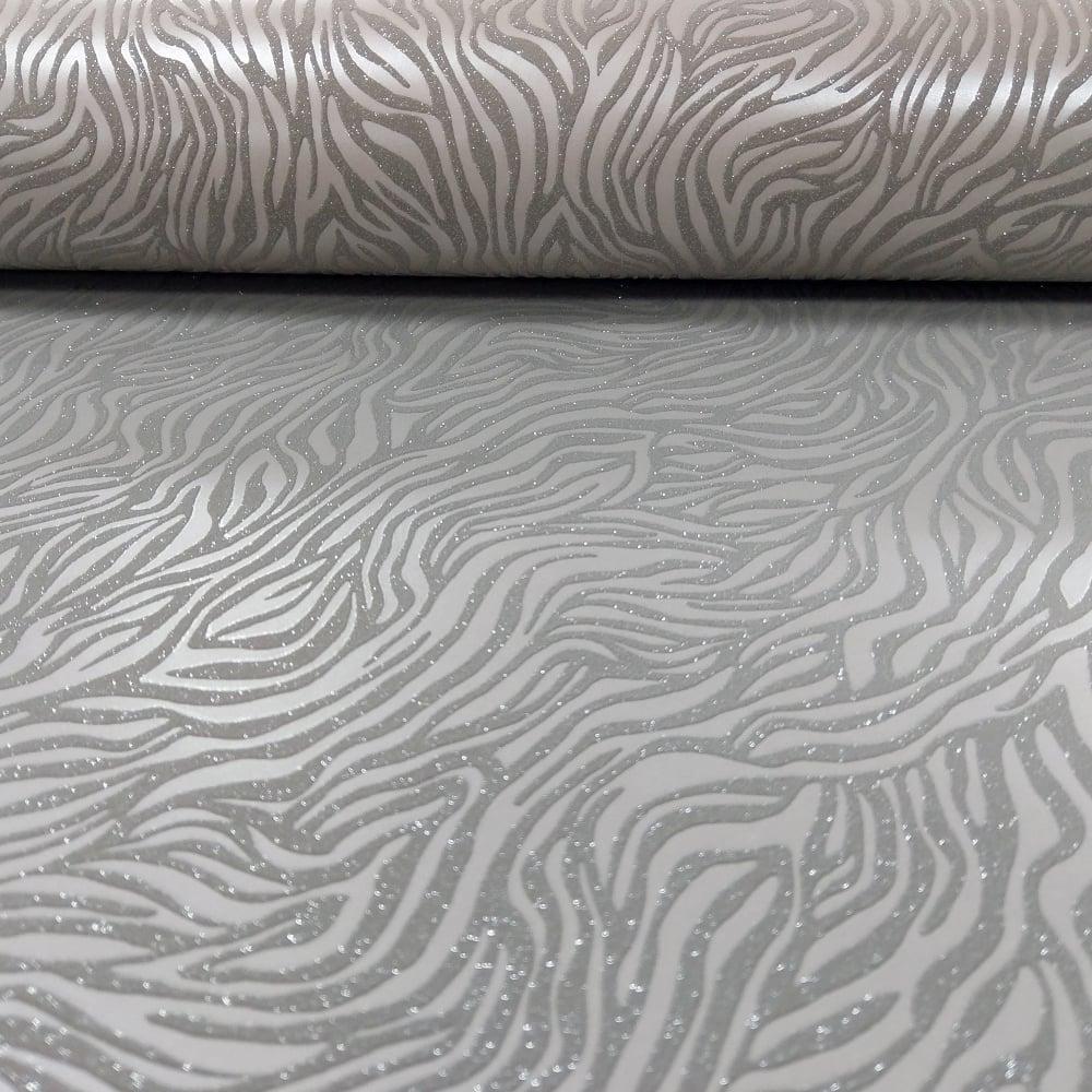 7401aa4f673f5 Holden Nala Animal Print Pattern Wallpaper Metallic Glitter Motif Tiger  Embossed 65420