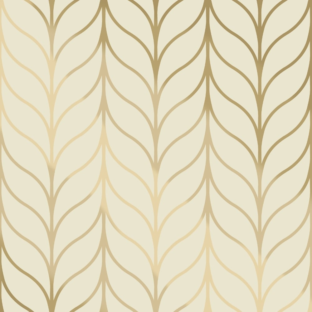 Holden Decor Holden Shimmering Geo Striped Wallpaper Art Deco Trellis  Metallic 50060 Exclusive
