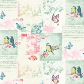Holden Songbirds Motif Wallpaper 11260