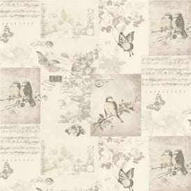 Holden Songbirds Motif Wallpaper 11261