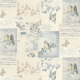 Holden Songbirds Motif Wallpaper 11263