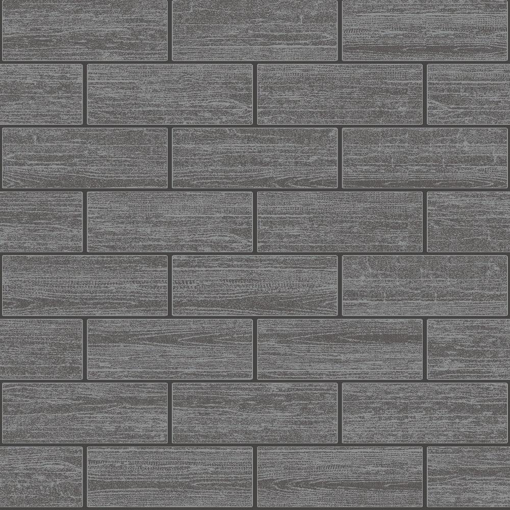 Grey Kitchen Tiles Texture: Holden Wood Tile Effect Kitchen Bathroom Tiling Wallpaper