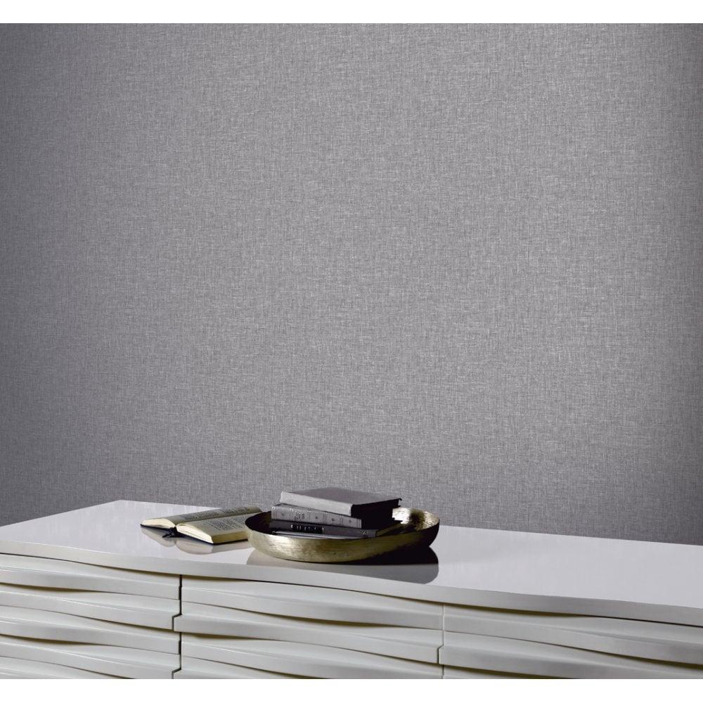 Arthouse Linen Texture Effect Paper Modern Plain Pattern Wallpaper 676007