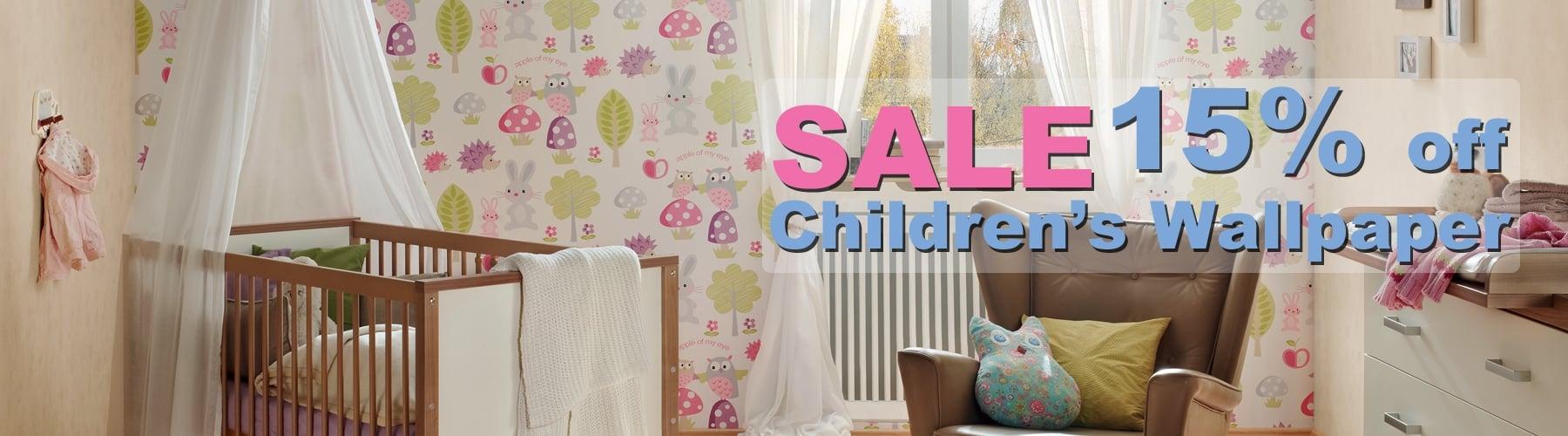 Childrens Wallpaper Sale