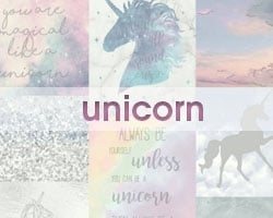 Dropdown Unicorn Wallpaper Promo Image