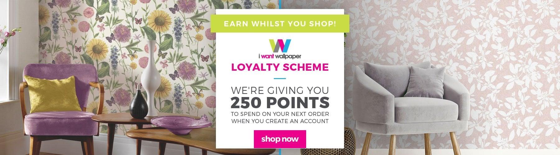 250 POINTS loyalty scheme