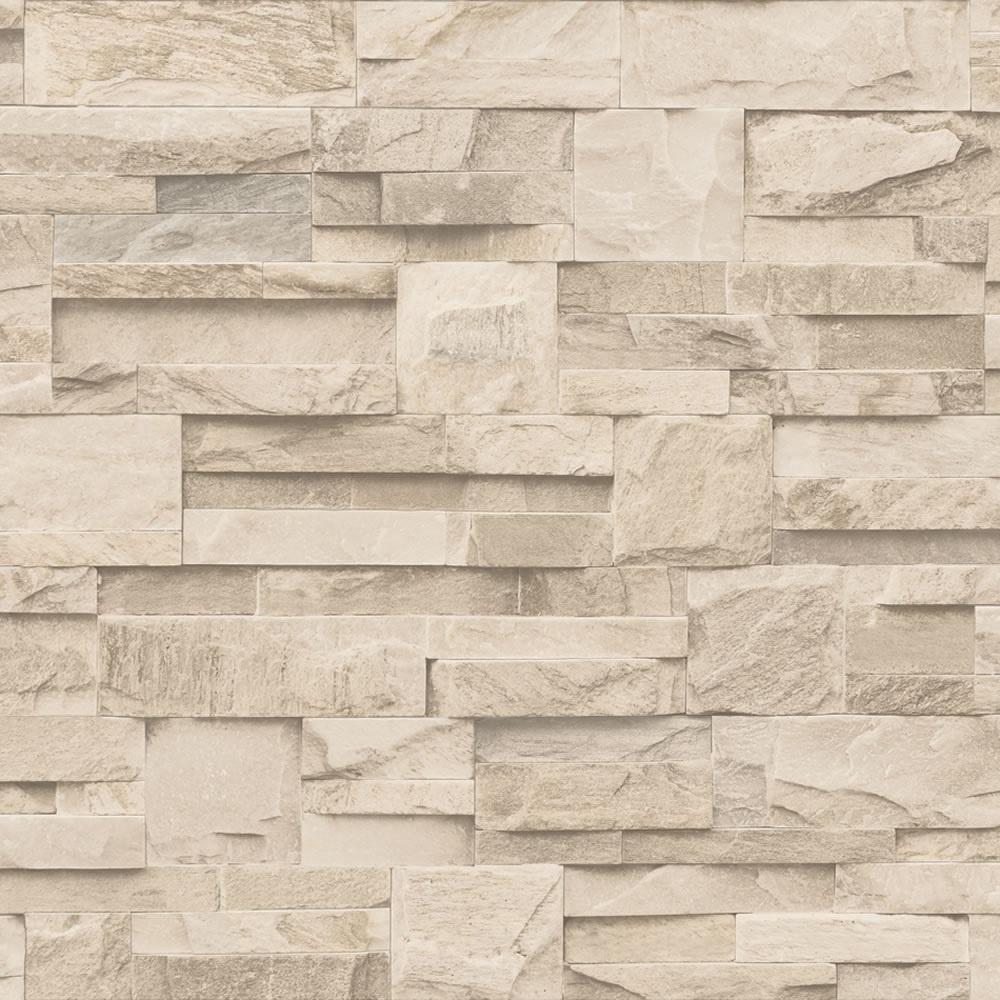 muriva bluff slate stone brick effect wallpaper j27407 p717 1293 image