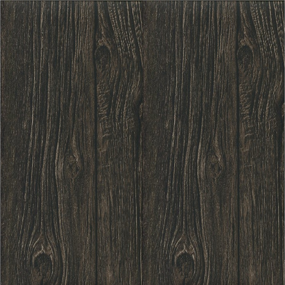 Muriva Bluff Wood Panel Wallpaper J02418 Dark Brown I