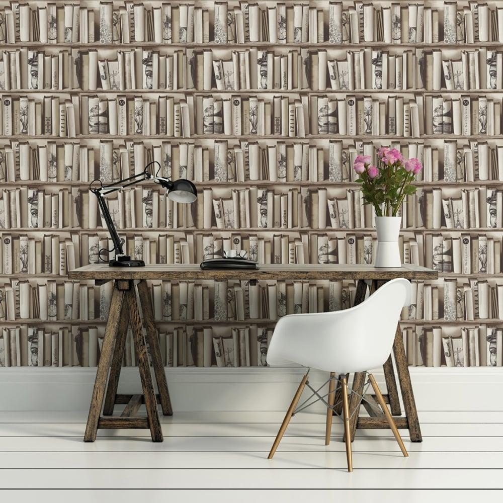 Top Wallpaper Marble Case - muriva-book-shelf-case-pattern-library-vintage-motif-wallpaper-e82208-p3271-7370_image  HD_1739100.jpg