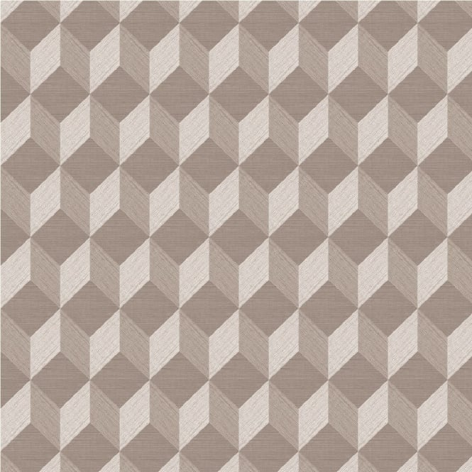 Muriva Cubix Geometric Wallpaper J43707