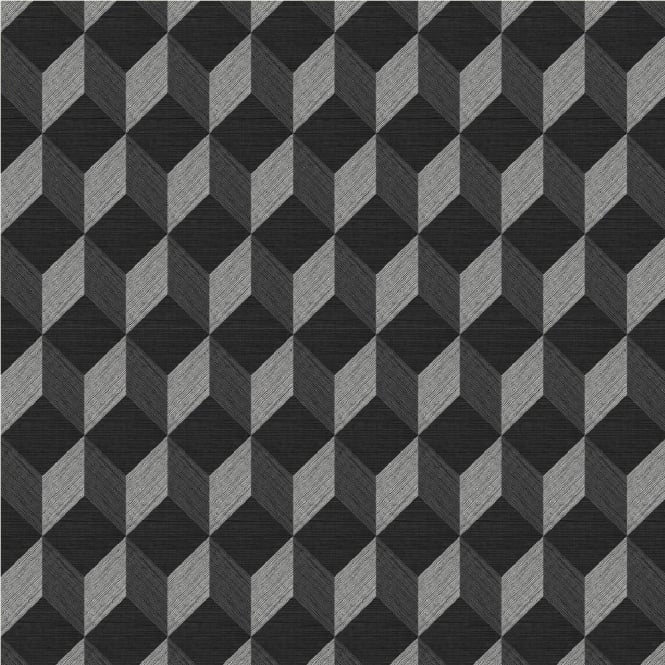 Muriva Cubix Geometric Wallpaper J43719