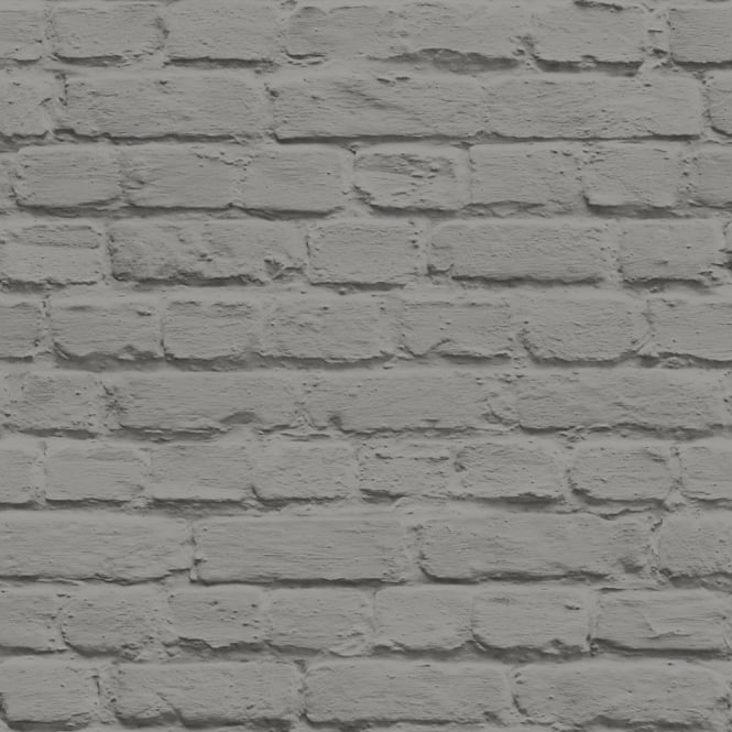 Muriva Just Like It Painted Brick Faux Stone Wall Mural Washable Vinyl Wallpaper J66509