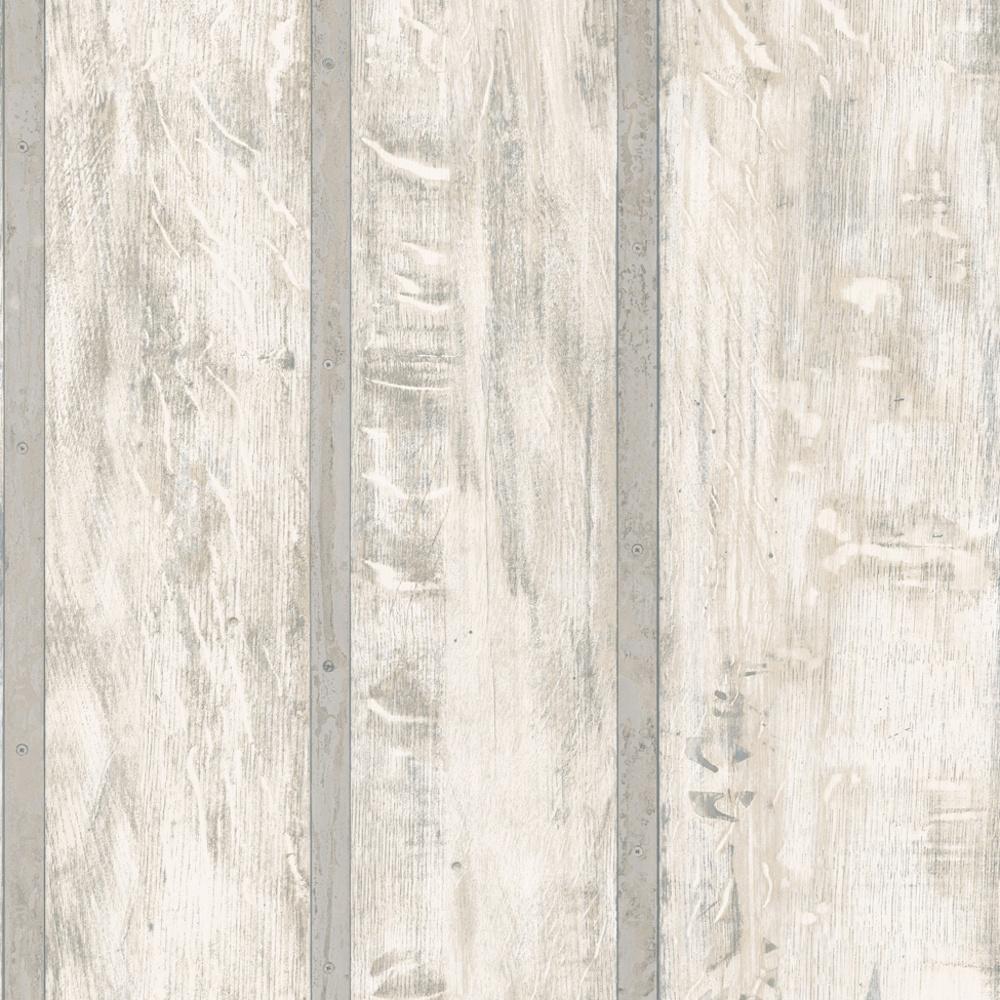 Muriva Muriva Just Like It Wood Wall Faux Wooden Panel Effect Textured Vinyl Wallpaper J68209