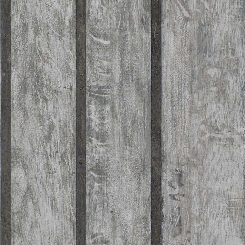 Just Like It Wood Wall Faux Wooden Panel Effect Textured Vinyl Wallpaper J68219