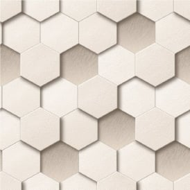 Muriva Kinetic Honeycomb Wallpaper J43907