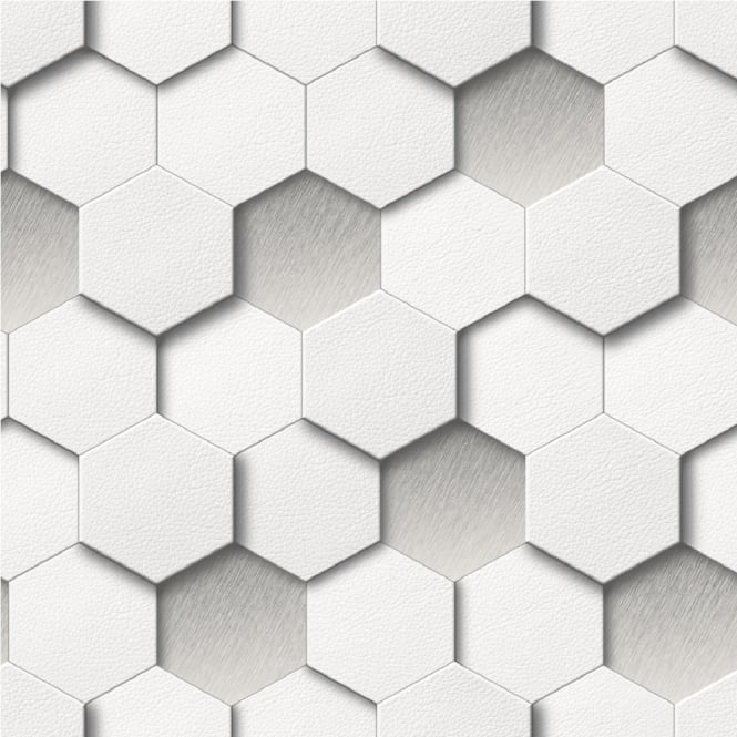 Muriva Kinetic Honeycomb Wallpaper J43909