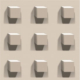 Muriva Kinetic Large Cubes Wallpaper J45407