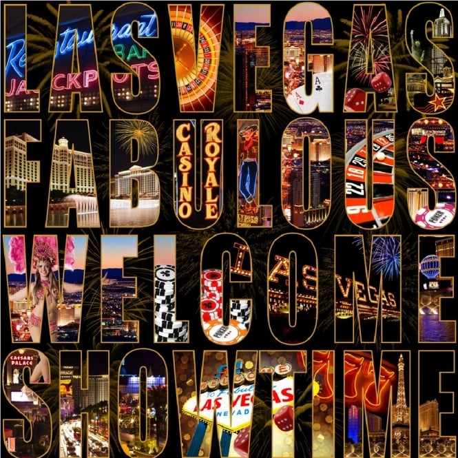 Muriva Letters From Las Vegas Wallpaper 102525