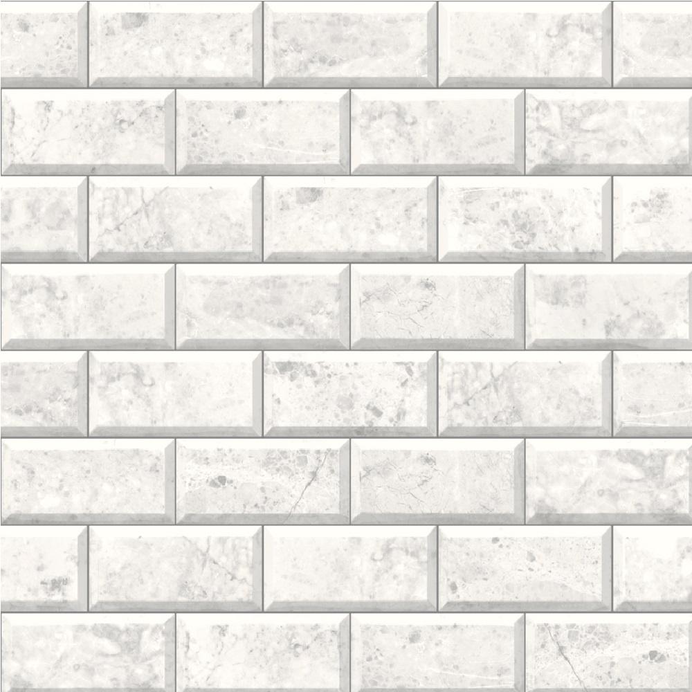 Amazing Tile Wallpaper Part - 11: Muriva Marble Tile Wallpaper E62900