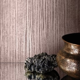 Muriva Mia Silk Effect Pattern Wallpaper Foil Metallic Stripe Textured Vinyl 701377