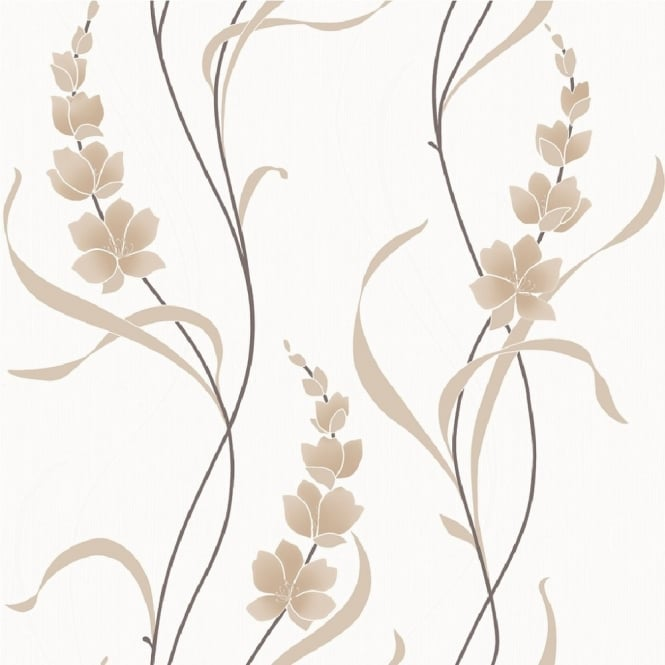 Muriva Angelica Floral Wallpaper 126103