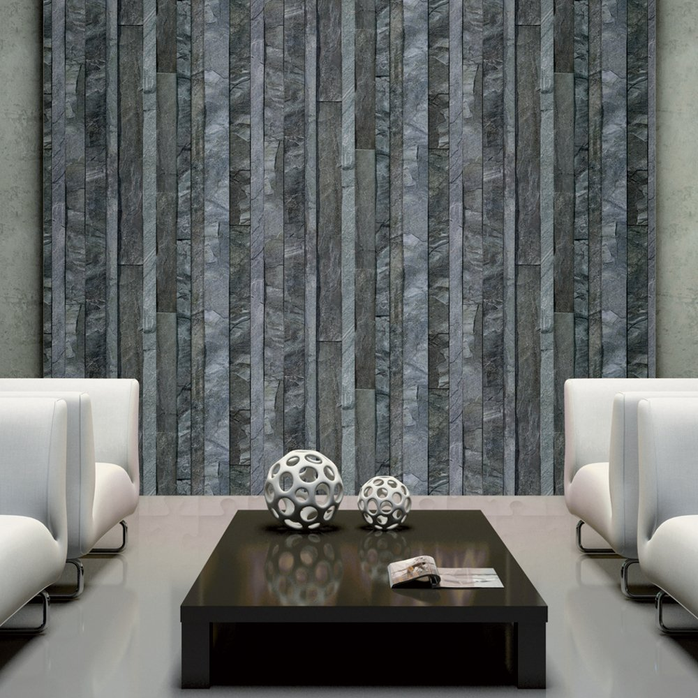 Muriva Bluff Slate Wallpaper