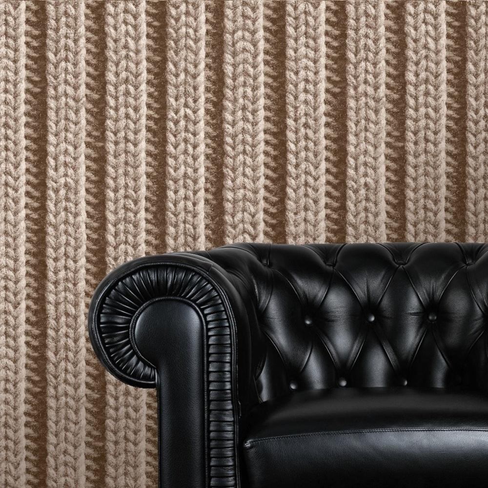 muriva bluff wool pattern fabric yarn effect vinyl