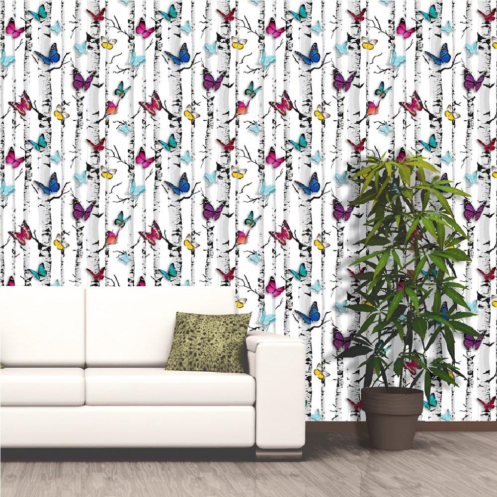 Muriva Emperor S Garden Buttterflies Motif Wallpaper 102529