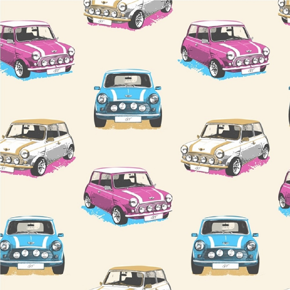 Mini Car Wallpaper: Muriva GT Mini Cooper Rally Cars Childrens Kids Wallpaper