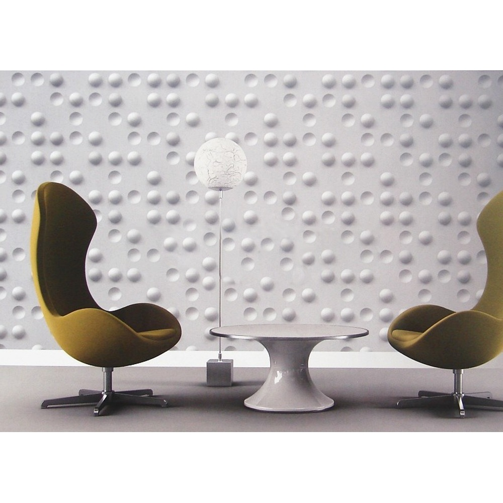 Muriva just like it 3d effect circles motif geometric for 3d effect wallpaper uk