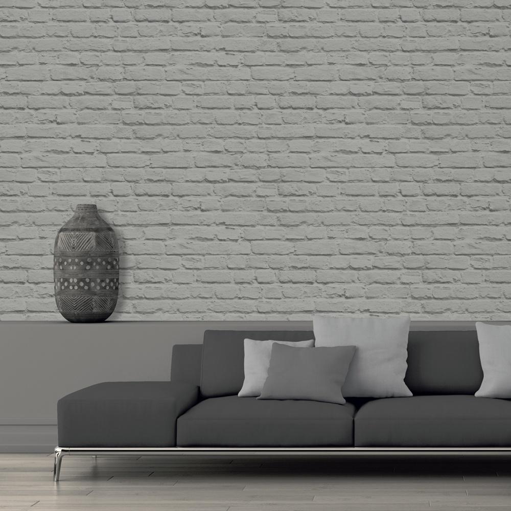muriva just like it painted brick stone wall vinyl wallpaper j66509. Black Bedroom Furniture Sets. Home Design Ideas