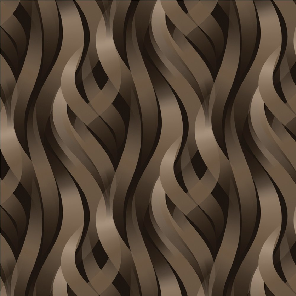 Muriva kinetic ribbons 3d effect wavy lines geometric for 3d effect wallpaper