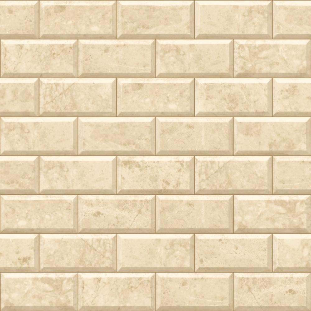 Vct Flooring Patterns Brick : Muriva sand stone wall brick pattern gold motif vinyl