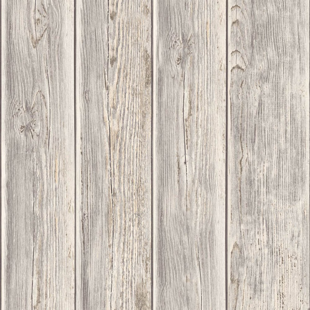 reclaimed wood panel wallpaper