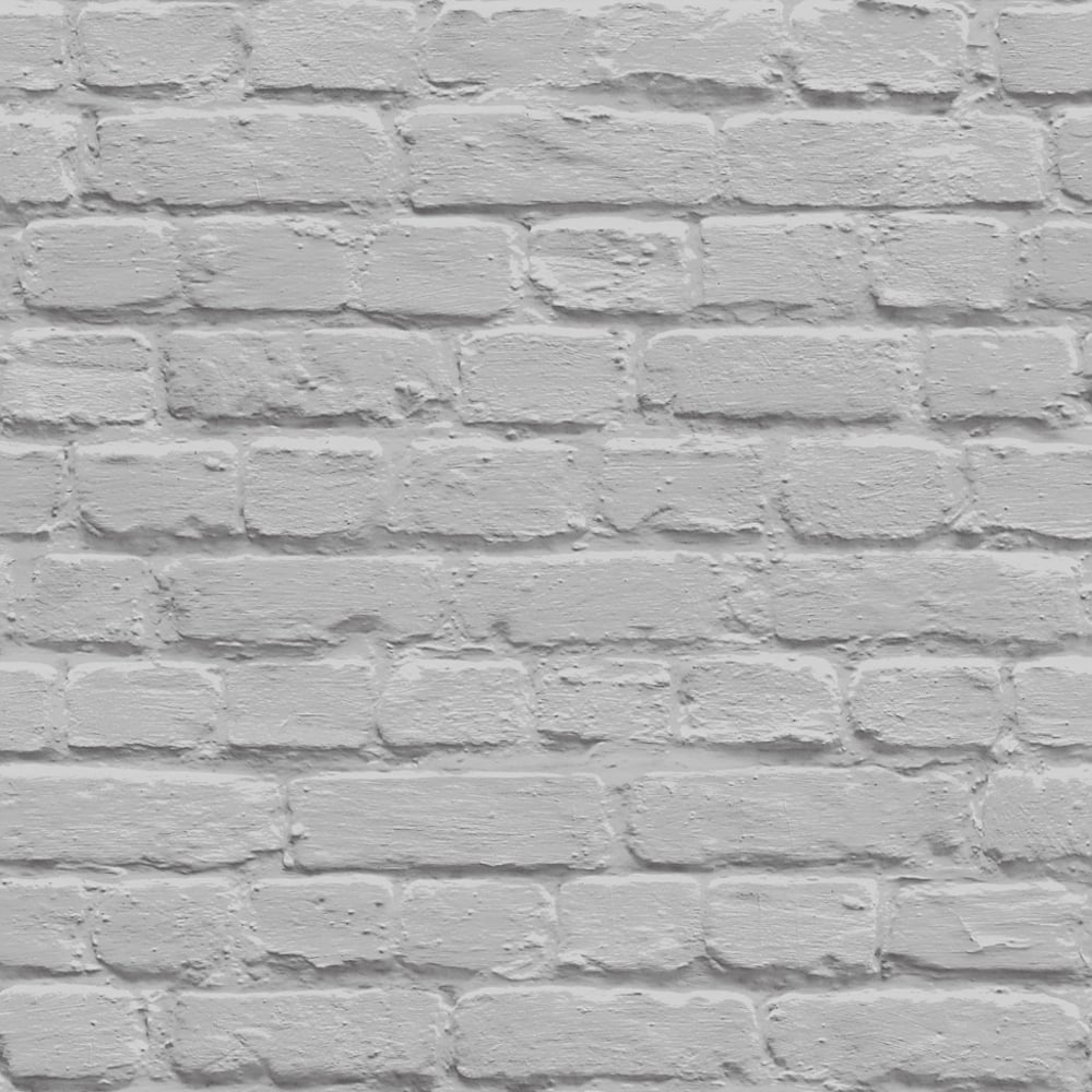 Muriva Painted Brick Pattern Wallpaper Faux Effect ...