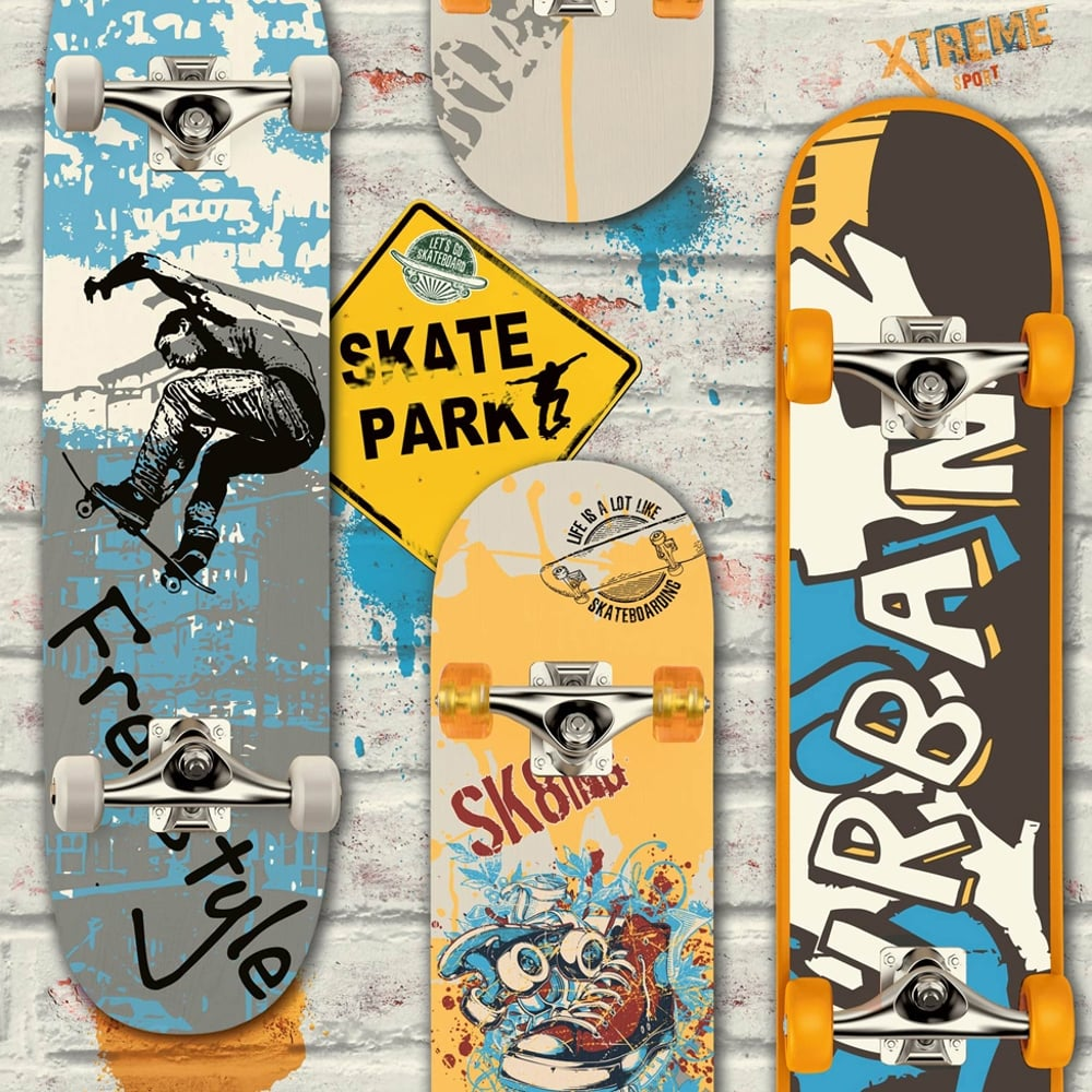 Unique Skate Deck Wall Art Embellishment - Art & Wall Decor ...