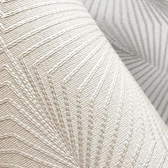 Muriva Geometric Pattern Wallpaper Glitter Motif Textured