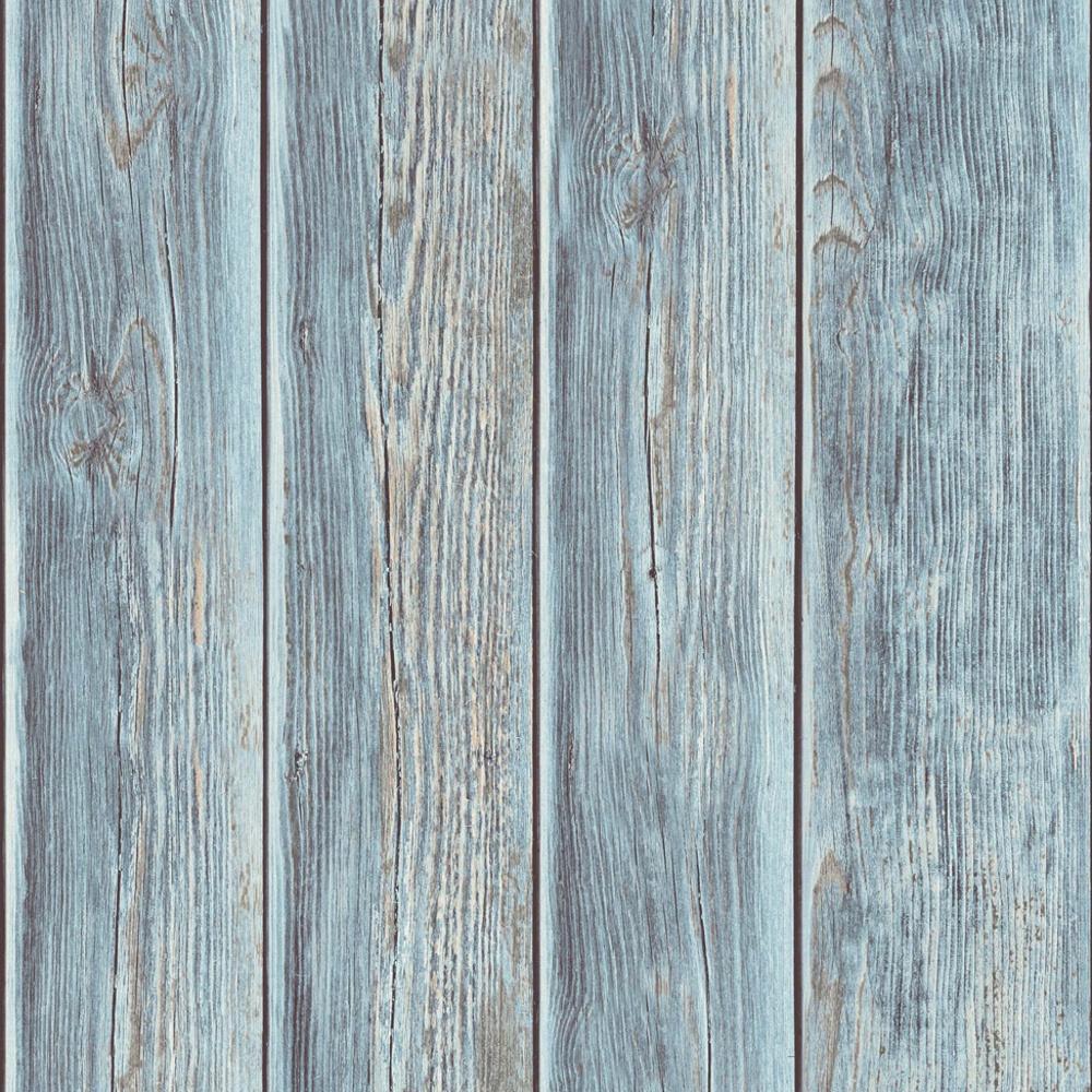 Muriva Wood Panel Faux Effect Wooden Beam Realistic Mural Wallpaper J